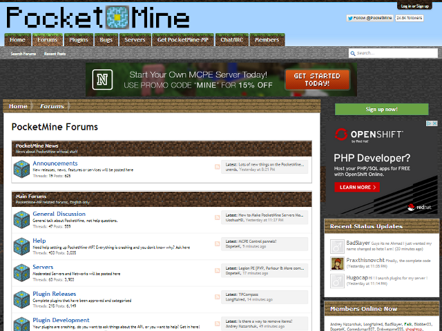 Get PocketMine-MP - Download Get PocketMine-MP for FREE - Free Cheats for Games